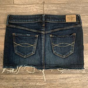 Abercrombie & Fitch Denim Jean Mini Skirt 4 27